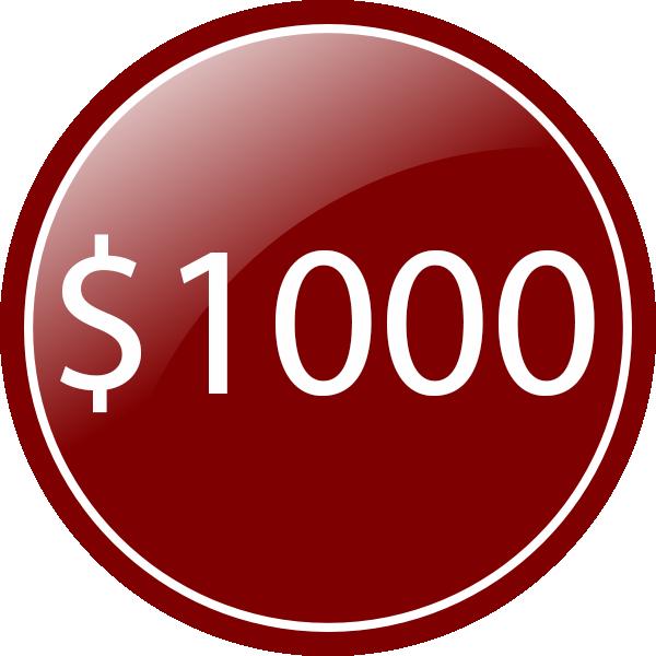 red circle 1000