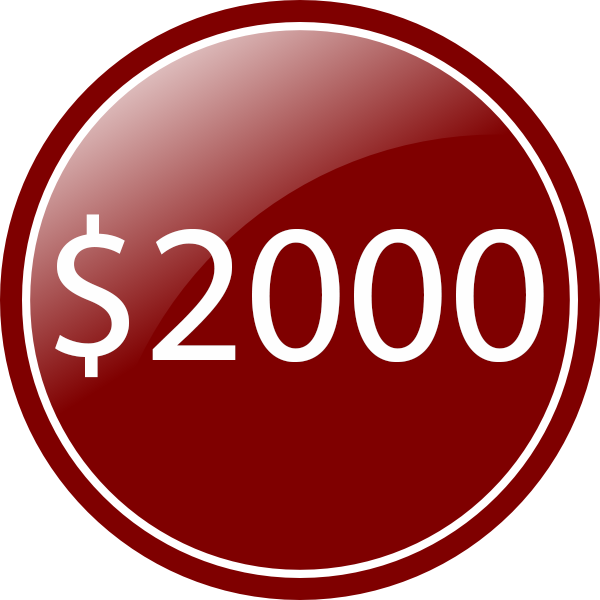 red circle 2000